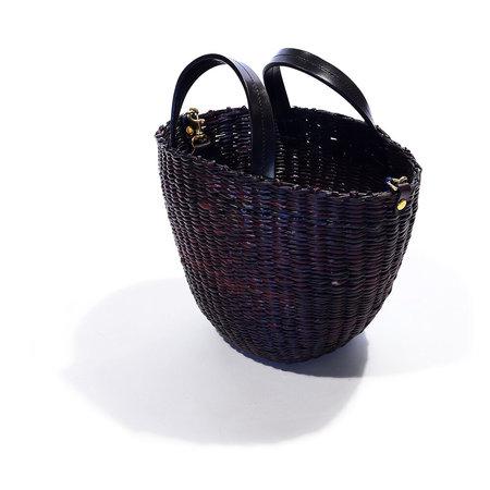 Clare V. Apolline Woven Straw Basket