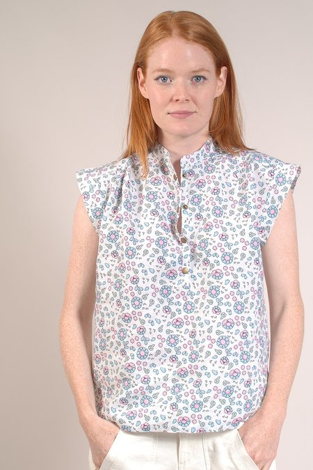 Built by Wendy Placket Top - Woodblock