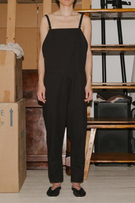 Baserange long strap overall - Black