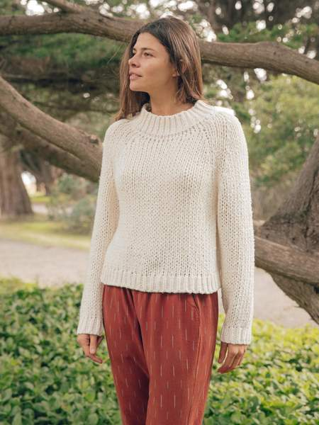 Mollusk Teddy Sweater - Natural