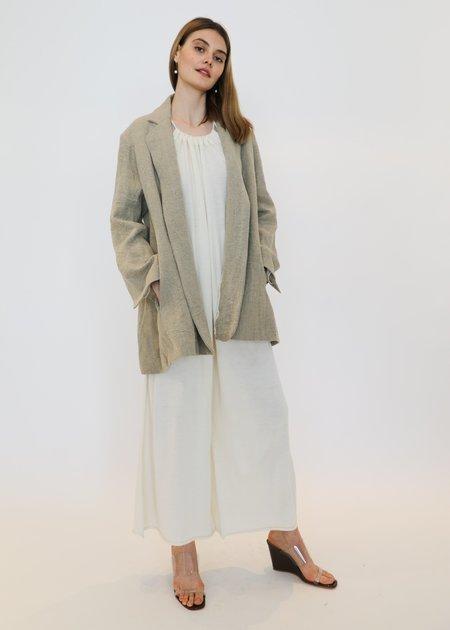Lauren Manoogian Burlap Blazer - Natural