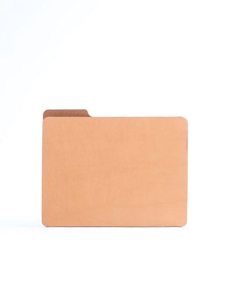 Foxtrot Supply Co. Leather Manila File Folder