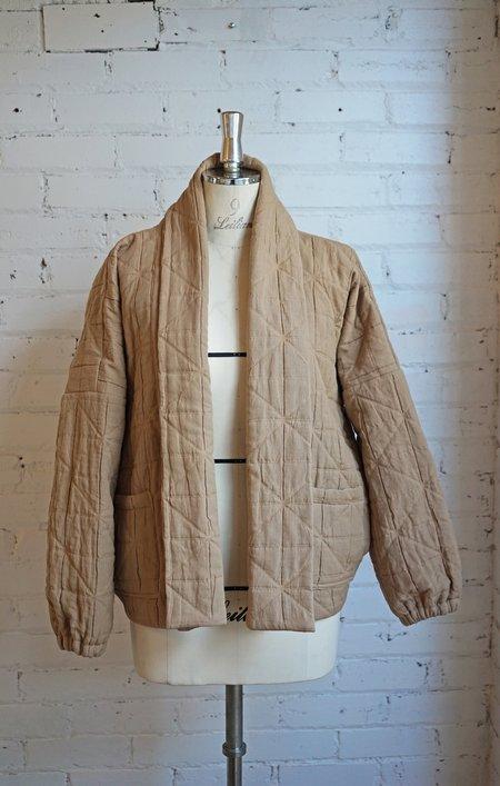 Mimi Shim Studio Quilted Jacket - Tan