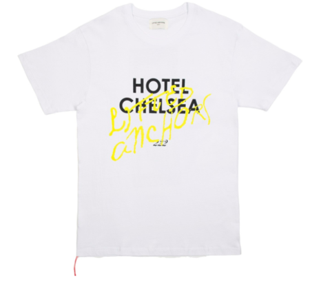 Lifted Anchors Hotel Chelsea Tee