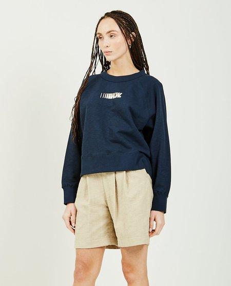 Wood Wood Hope Sweatshirt - navy
