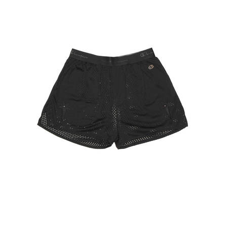 RICK OWENS basketball mesh shorts - Black