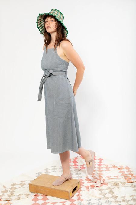 Carleen Louise Striped Wrap Dress
