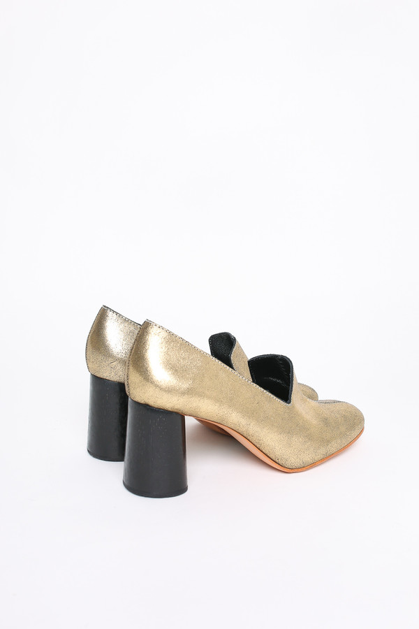 Rachel Comey May heel in Old Gold