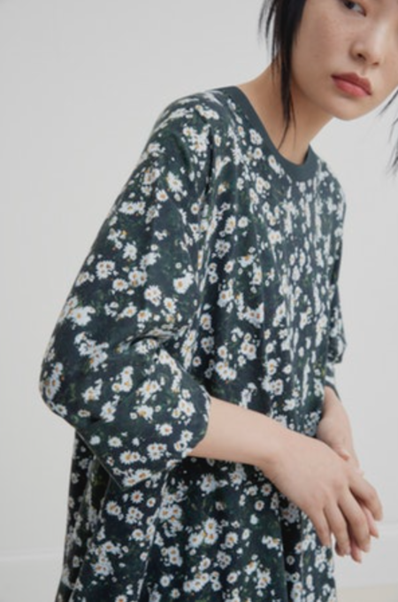 Kowtow Oversized Boxy dress - meadow print