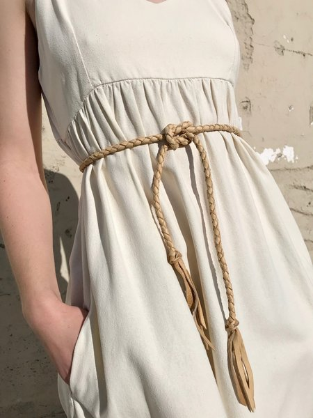 Big Soeur Ensign Rope Belt / Tan