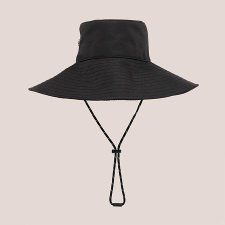 Ganni Wide Brim Bucket Hat - Black