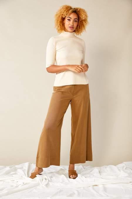 Lois Hazel Straight Pant - Toffee