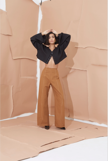 Grind and Glaze Miller Pant - Clay