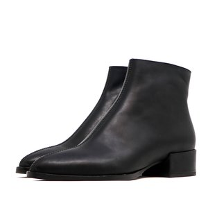 Sylven New York CASSIDY calf leather boot - black