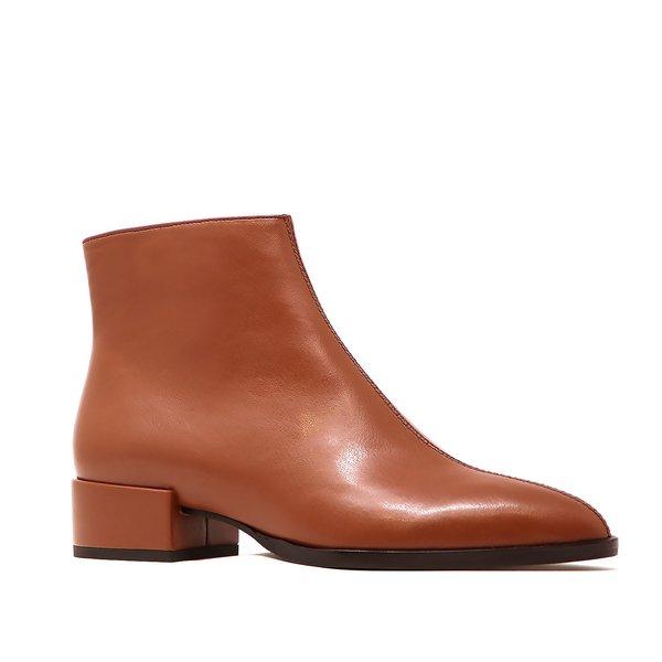 Sylven New York vegan nappa CASSIDY boot - saddle