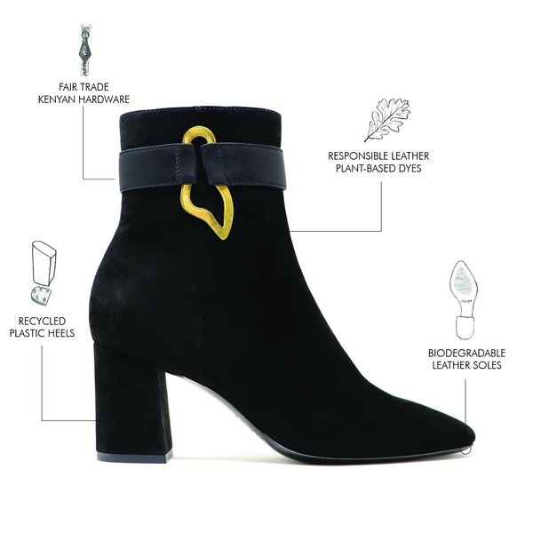 Sylven New York Lake Suede Boots - Black