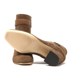 Sylven New York Lake Suede Boots - Toffee