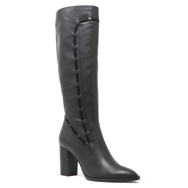 Sylven New York Strada Calf Leather Boots - Black