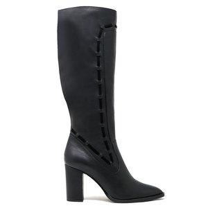 Sylven New York vegan nappa STRADA boot - black