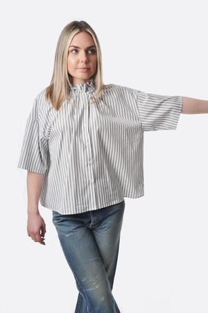 Nicholson and Nicholson Chance Shirt - Khaki Stripe