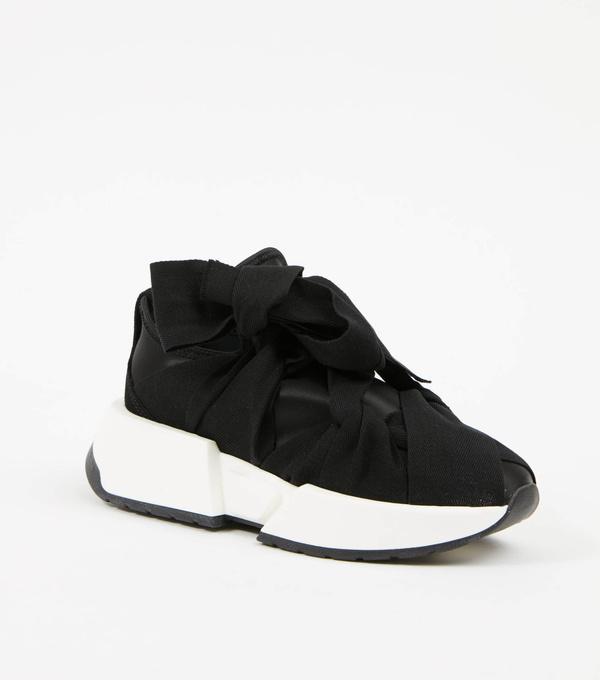 MM6 Maison Margiela Ribbon Sneaker - Black