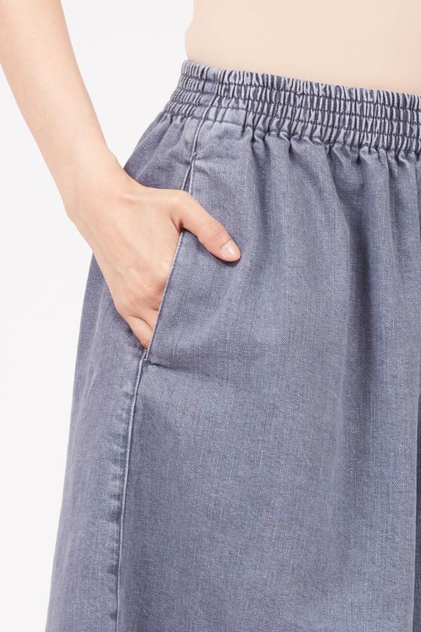 MM6 Maison Margiela Oversized Athletic Short - Denim