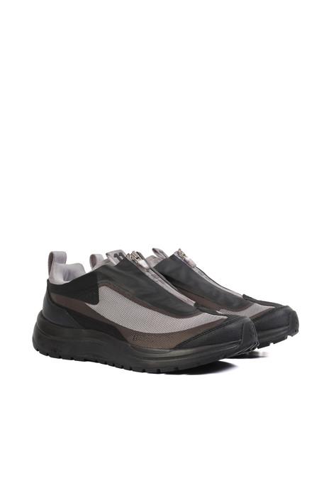 11 BY BBS X SALOMON -  light grey bamba 2 low sneakers
