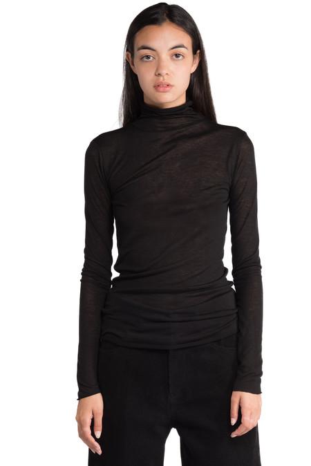 Greyyang -  Black Long Sleeve Turtle Neck