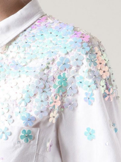 Suno - SEQUIN MINI TOP