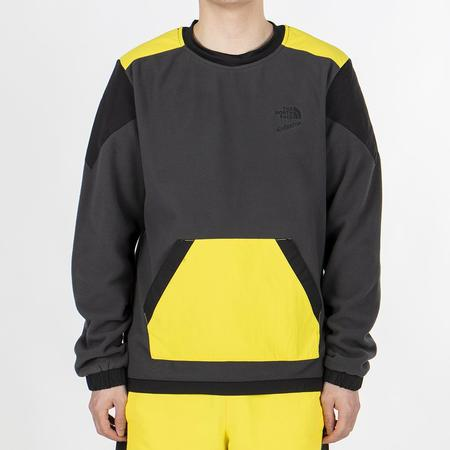 The North Face 90 Extreme Pullover Fleece - Asphalt Grey Combo