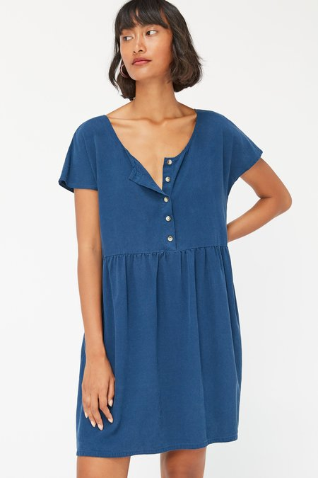 Lacausa Buena Mini Dress - Sapphire