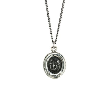 Pyrrha Revered Friendship Talisman - Silver