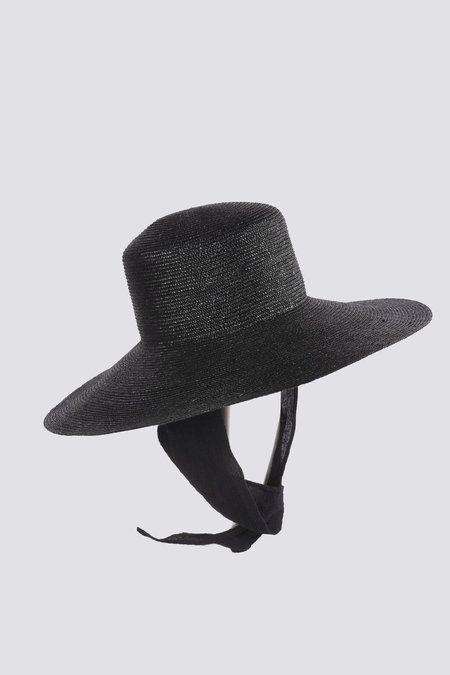 Clyde Wide Brim Hat with Shade - Black