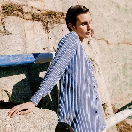 sunad CORRUBEDO Rayas - blue/white stripe