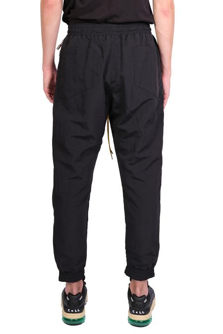 rhude side zip flight pant - Black