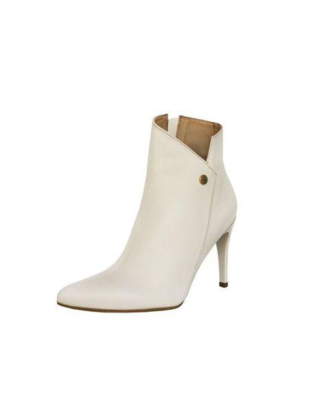 Stivali Radiance Leather bootie - Ivory