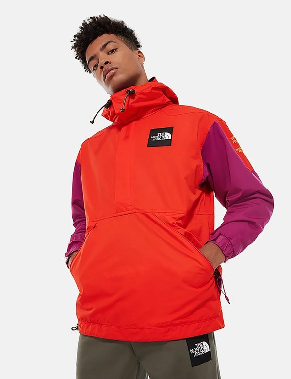 North Face Headpoint Anorak Jacket - Fiery Red