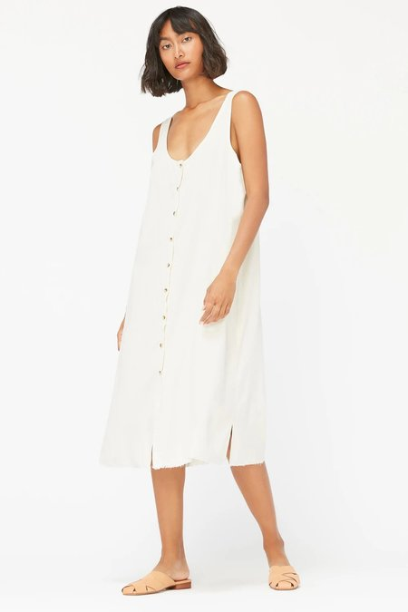Lacausa Reversible Silk Dress - Natural