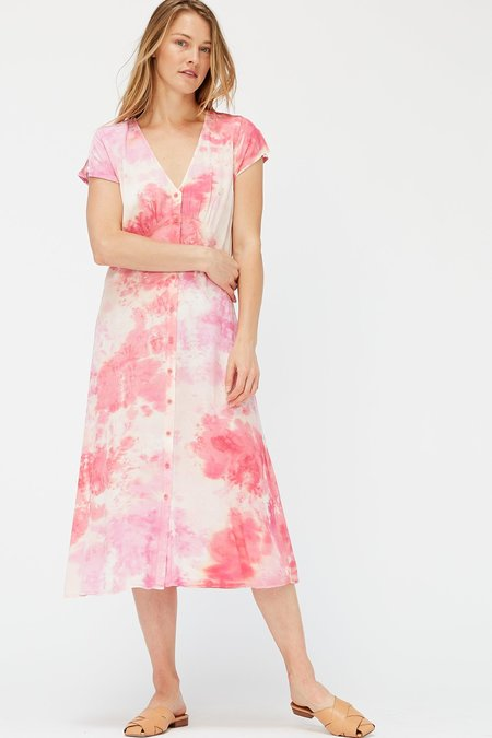 Lacausa Melody Dress - Raspberry Wash