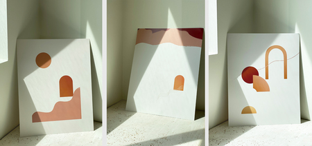 Buhlaixe Art Print Trio