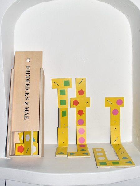 Fredericks & Mae Shape Dominoes
