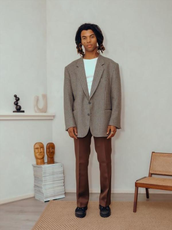 Vintage Brown Pantalon