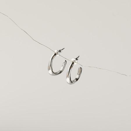 FARIS Vero Small Hoops - Sterling Silver
