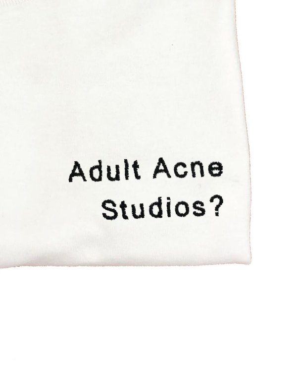 HOUSE OF 950 embroidery Adult Acne Studios? tee shirt