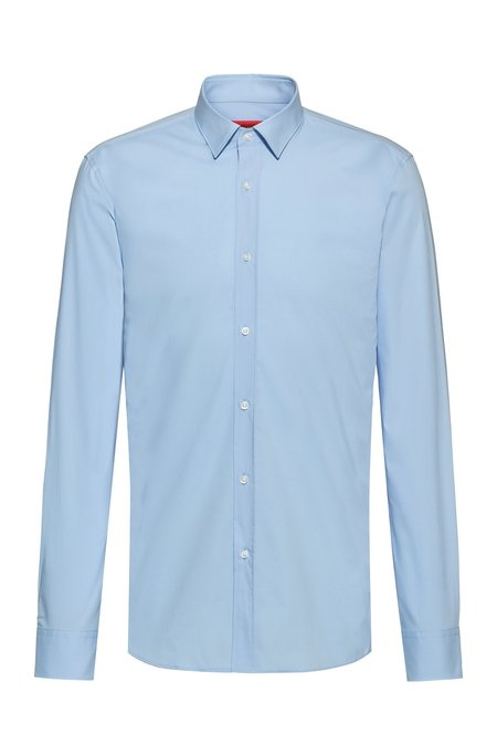 Hugo Boss Hugo Elisha Slim Fit Shirt - Sky