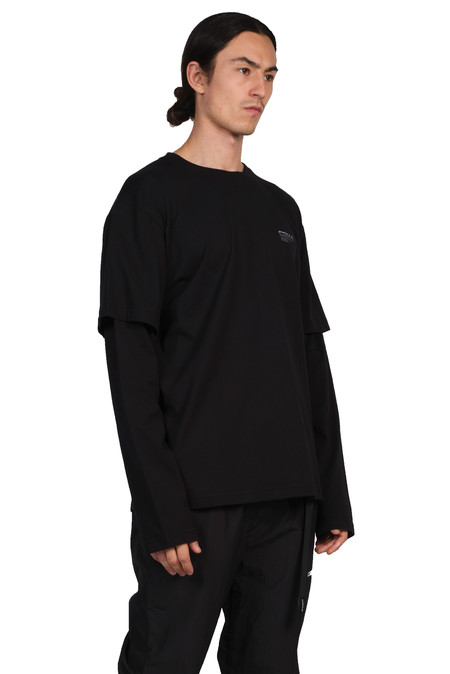C2H4 Double Layered Long-sleeve T-shirt