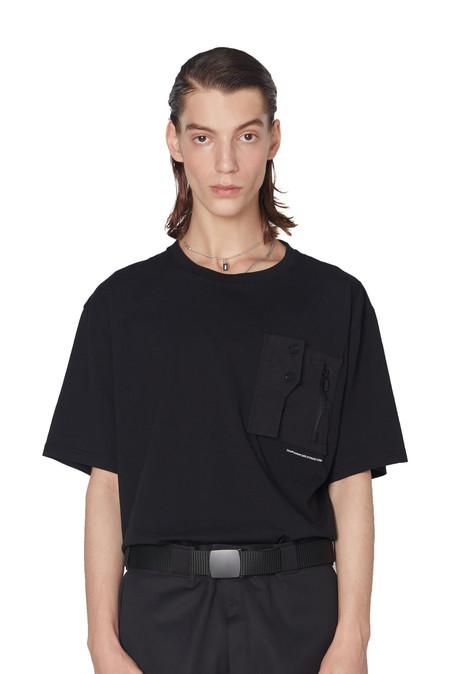 C2H4 Layer Pocket Logo T-Shirt