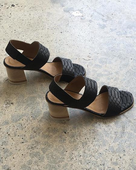 Coclico Bedford Sandals - Black Snake