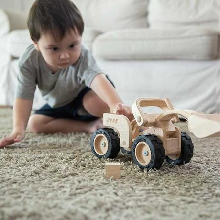 Plan Toys Wooden Bulldozer