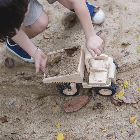 Plan Toys Wooden Dump Truck